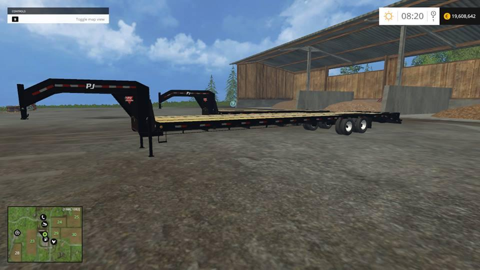 dakota 16 map for fs15  79430