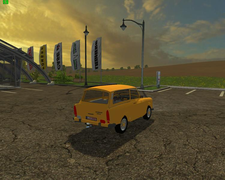 trabant 601 kombi v0 9 beta farming simulator 17 fs17. Black Bedroom Furniture Sets. Home Design Ideas