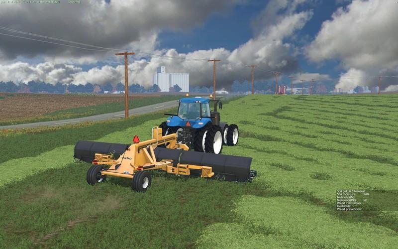 LINDBEJB OXBO 334 MERGER V2.0 • Farming simulator 17-19 ...