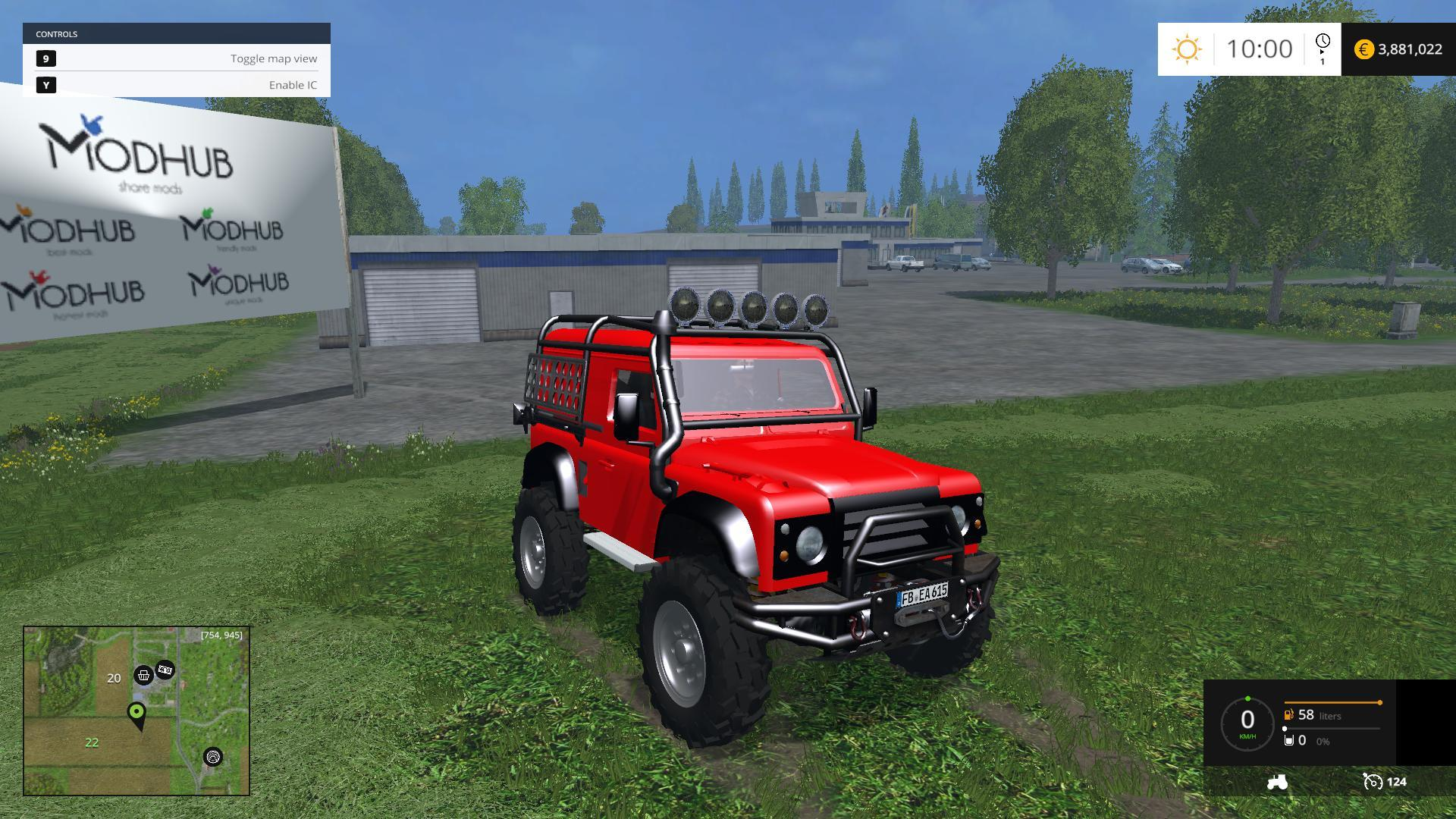 LAND ROVER DEFENDER OFFROAD V1.0 • Farming simulator 17-19 ...