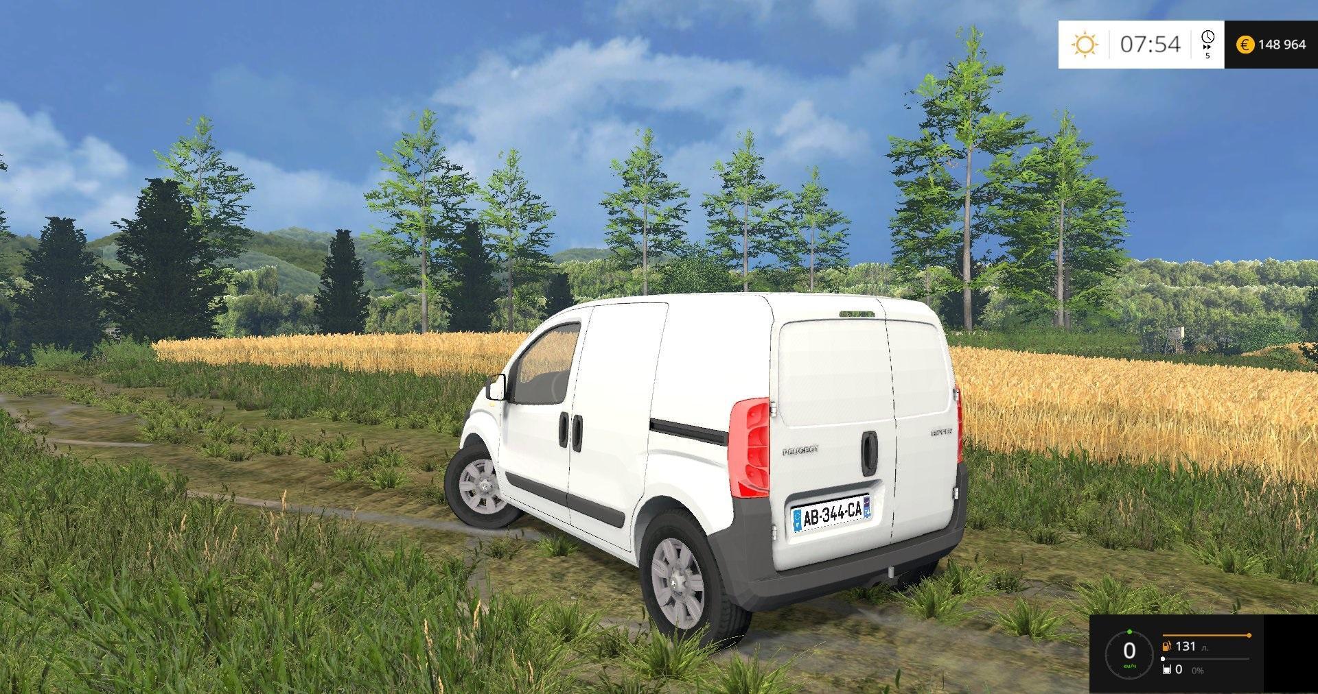 peugeot bipper v1 0 farming simulator 17 19 mods fs17 19 mods. Black Bedroom Furniture Sets. Home Design Ideas