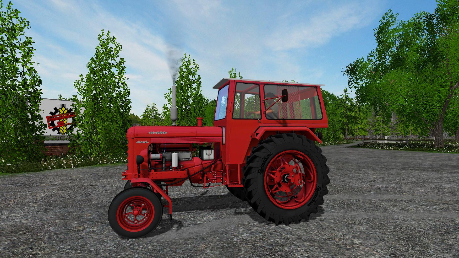 Farming Simulator Tractors : Romanian old tractor utb v farming simulator