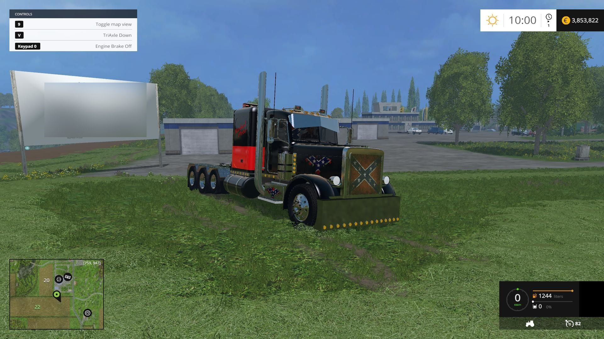 rebel truck v2 0 farming simulator 17 19 mods fs17 19 mods. Black Bedroom Furniture Sets. Home Design Ideas