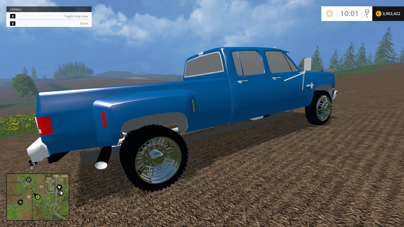 Square Body Dually Lifted >> CHEVY SQUAREBODY DUALLY • Farming simulator 17-19 mods | FS17-19 mods