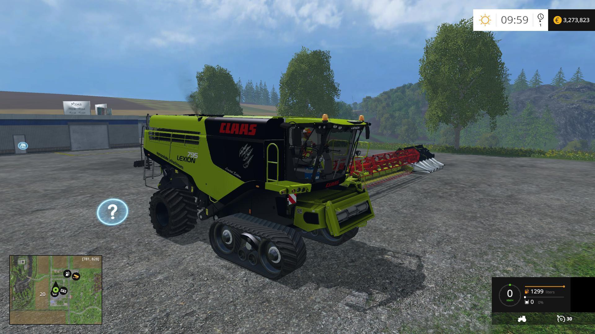 claas lexion 795 v1 0 farming simulator 17 19 mods fs17 19 mods. Black Bedroom Furniture Sets. Home Design Ideas