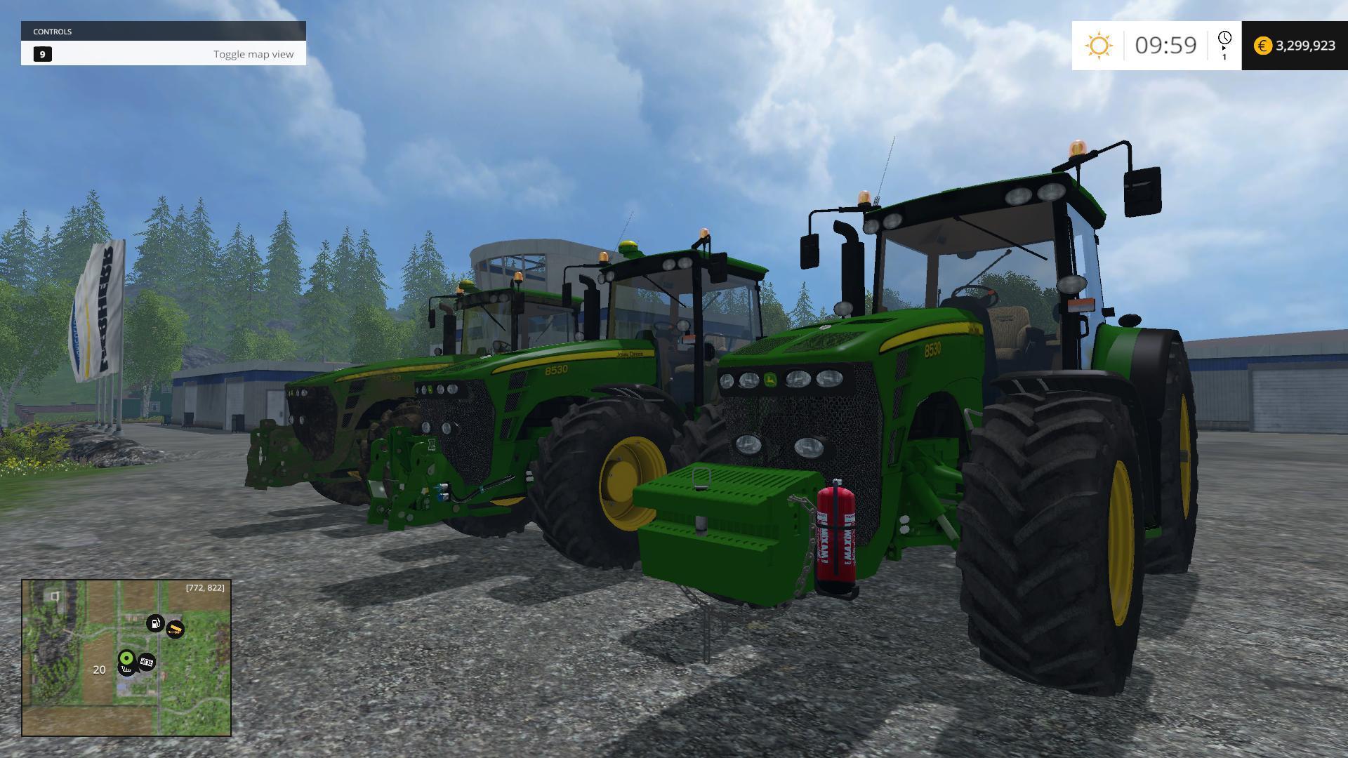 John Deere 8530 Pack V10 Farming Simulator 19 17 15 Mods Fs19