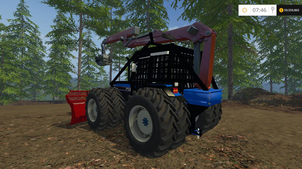Farming Simulator 2019 mods forestry Equipment autoload