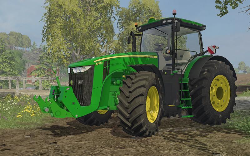 john deere 8r v2 2 farming simulator 17 19 mods fs17. Black Bedroom Furniture Sets. Home Design Ideas