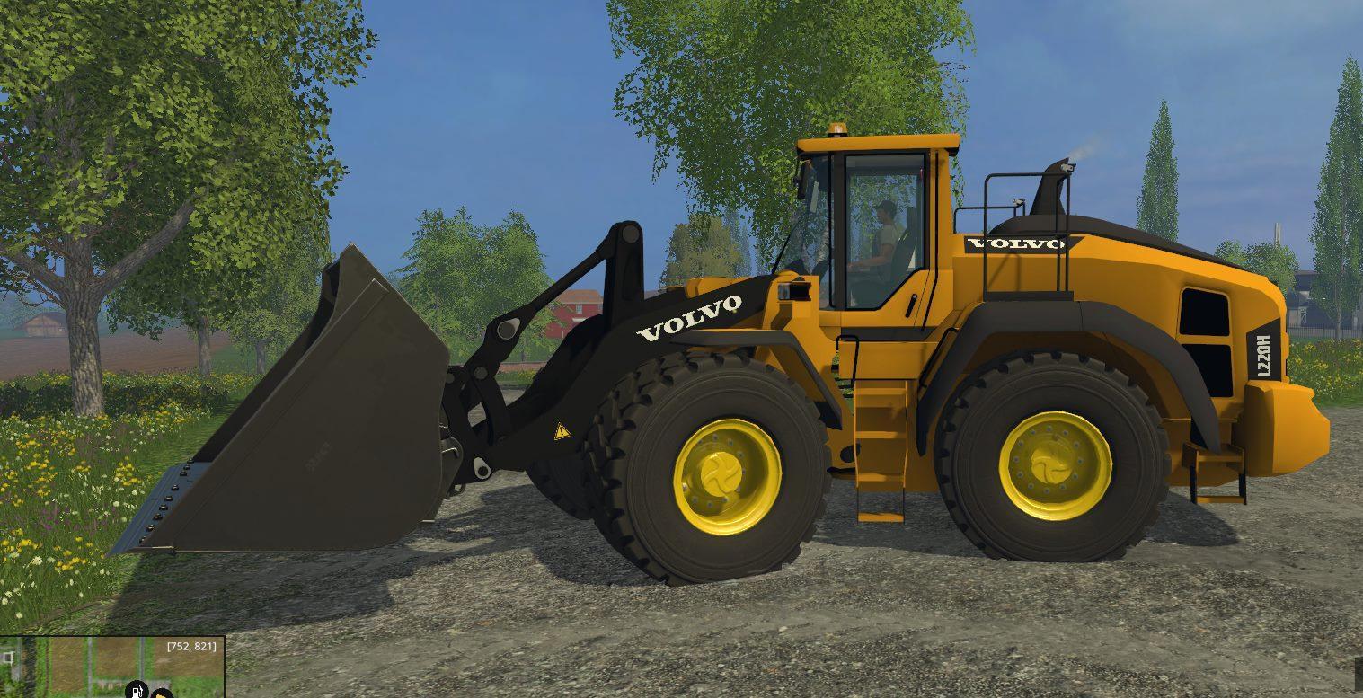VOLVO L220H V2 • Farming simulator 17-19 mods   FS17-19 mods