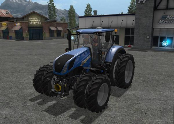 New Holland Tire Rims : Fs new holland t dual wheels v farming simulator