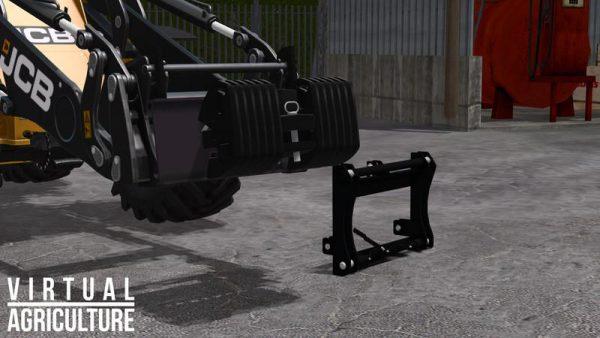 Fs17 Weight And 3pt Adapter V1 0 Farming Simulator 17 19