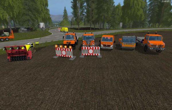 FS17 MERCEDES UNIMOG PACK V1 • Farming simulator 17-19 mods | FS17-19 mods