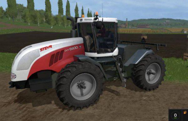 Fs17 Steyr 6600 Cvt V1 0 Farming Simulator 17 Mods